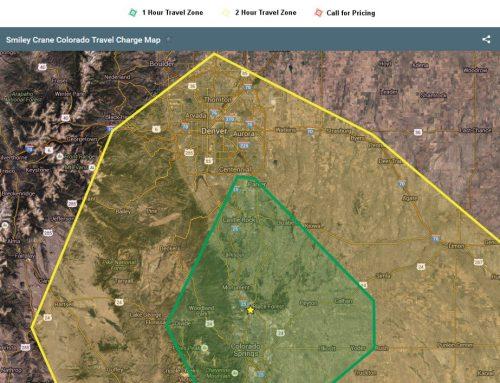 Operated Crane Service to Denver / Colorado Springs